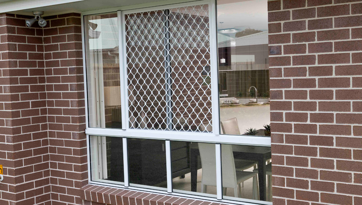Decorative Security Grilles For Windows Lifestyle Security Doors Diamond Grille Range
