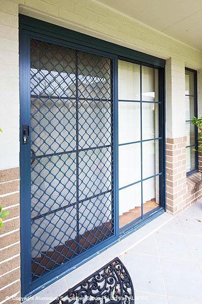 Lifestyle Security Doors Diamond Grille Range